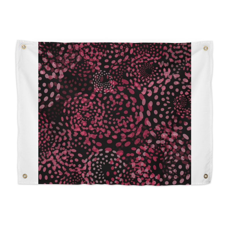 Crimson Fireworks Home Tapestry by Christy Leigh Creative