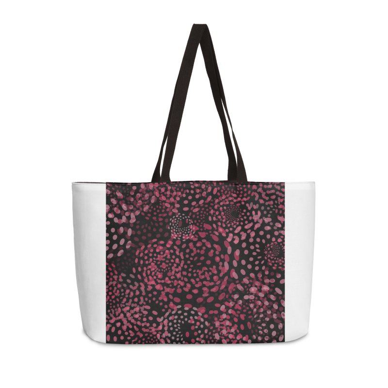 Crimson Fireworks Accessories Weekender Bag Bag by Christy Leigh Creative