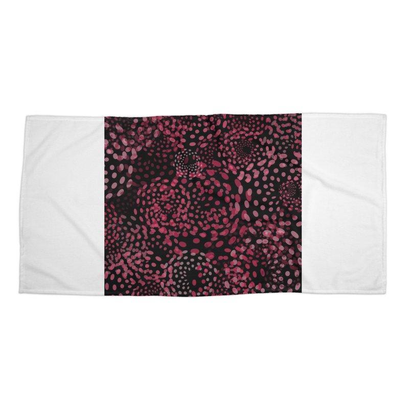 Crimson Fireworks Accessories Beach Towel by Christy Leigh Creative