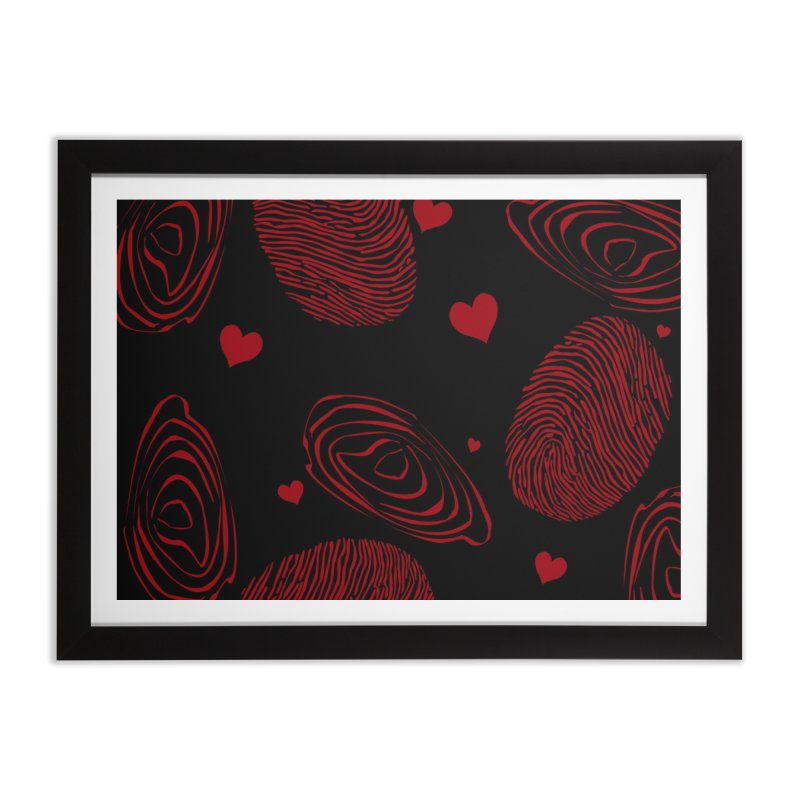 Love Prints Home Framed Fine Art Print by Christy Leigh Creative