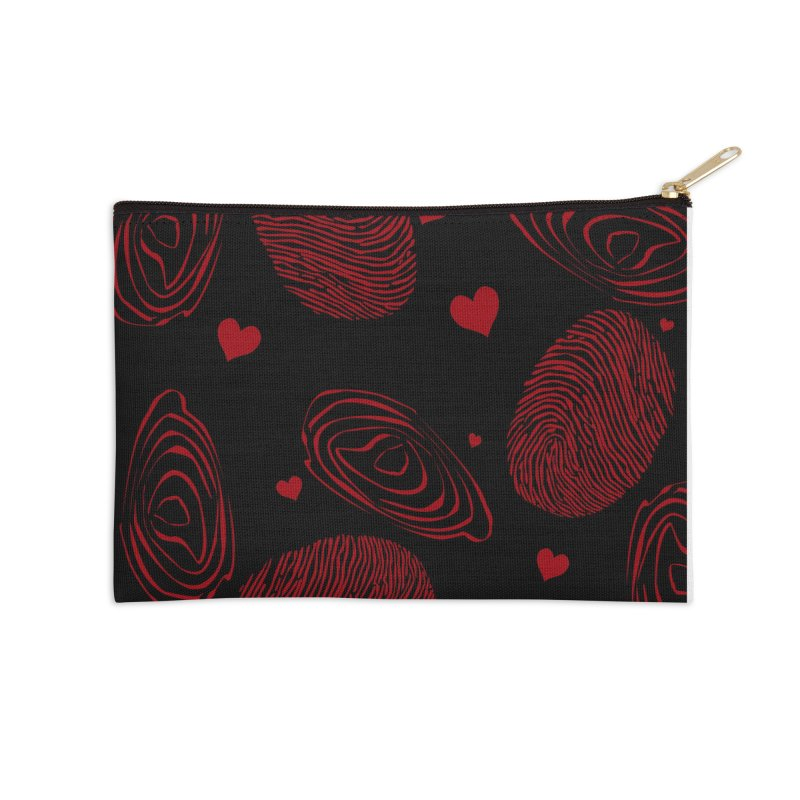 Love Prints Accessories Zip Pouch by Christy Leigh Creative