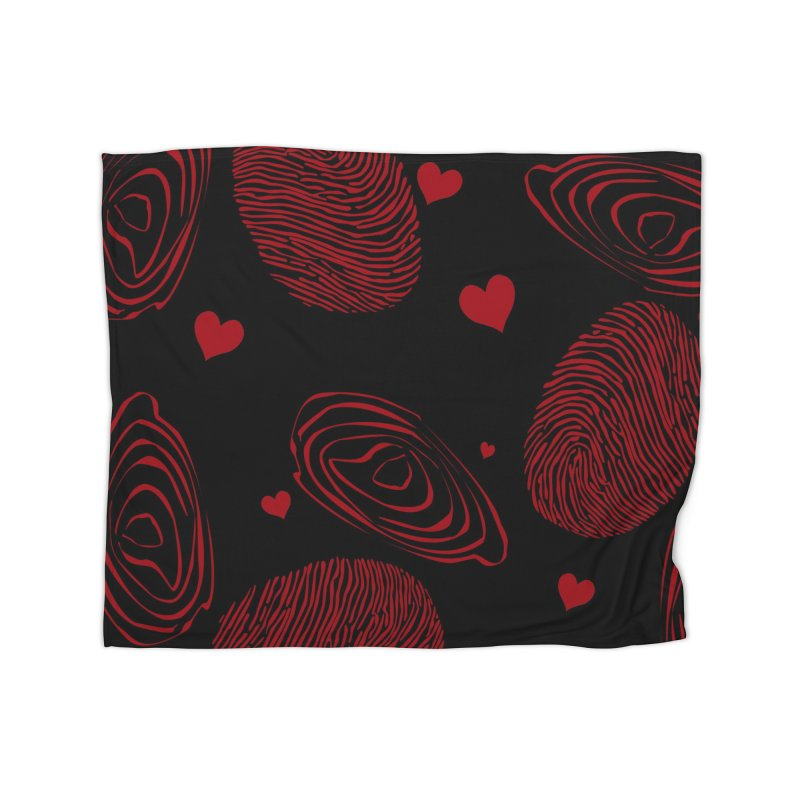 Love Prints Home Blanket by Christy Leigh Creative