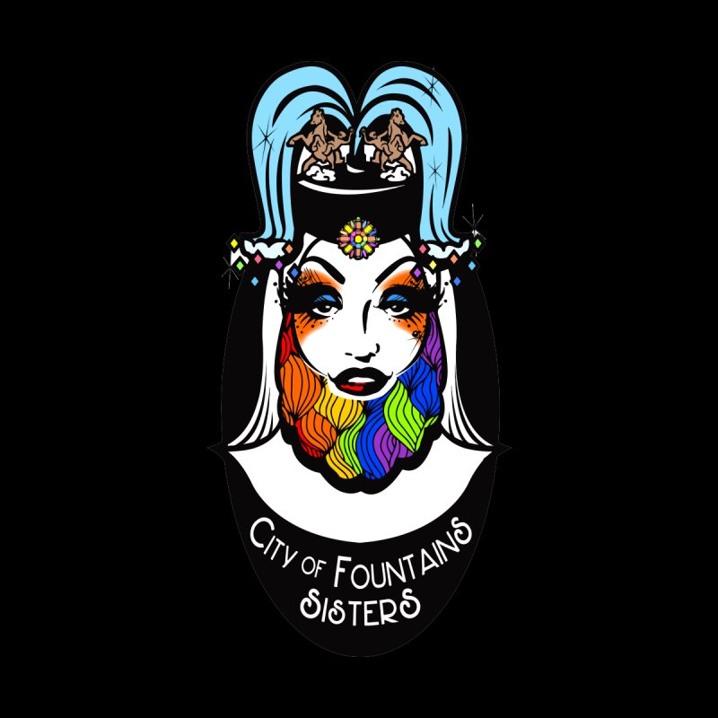 City of Fountains Sisters Logo Accessories Sticker by City of Fountains Sisters Merch