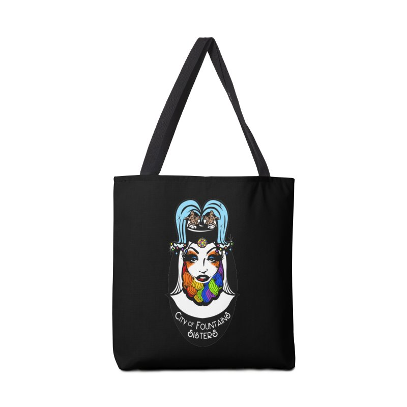 City of Fountains Sisters Logo Accessories Bag by City of Fountains Sisters Merch