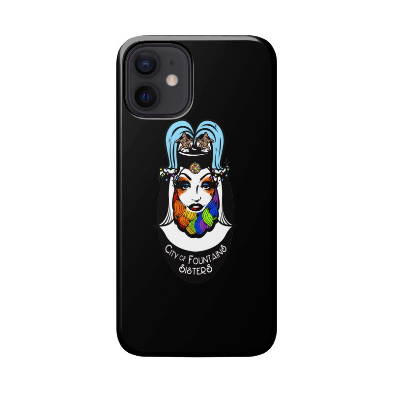 City of Fountains Sisters Logo Accessories Phone Case by City of Fountains Sisters Merch