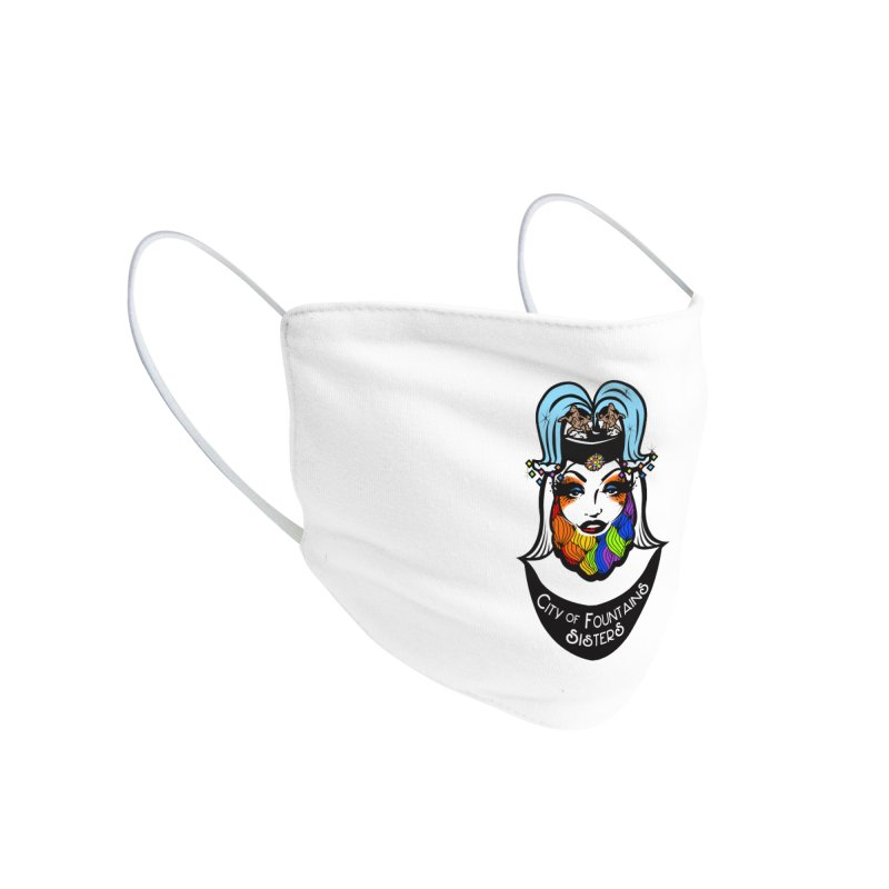COFS Logo Masks Accessories Face Mask by City of Fountains Sisters Merch