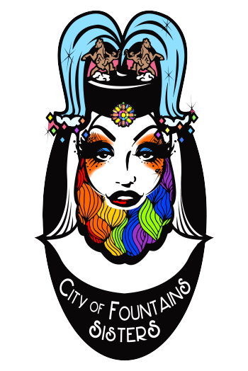 City of Fountains Sisters Merch Logo