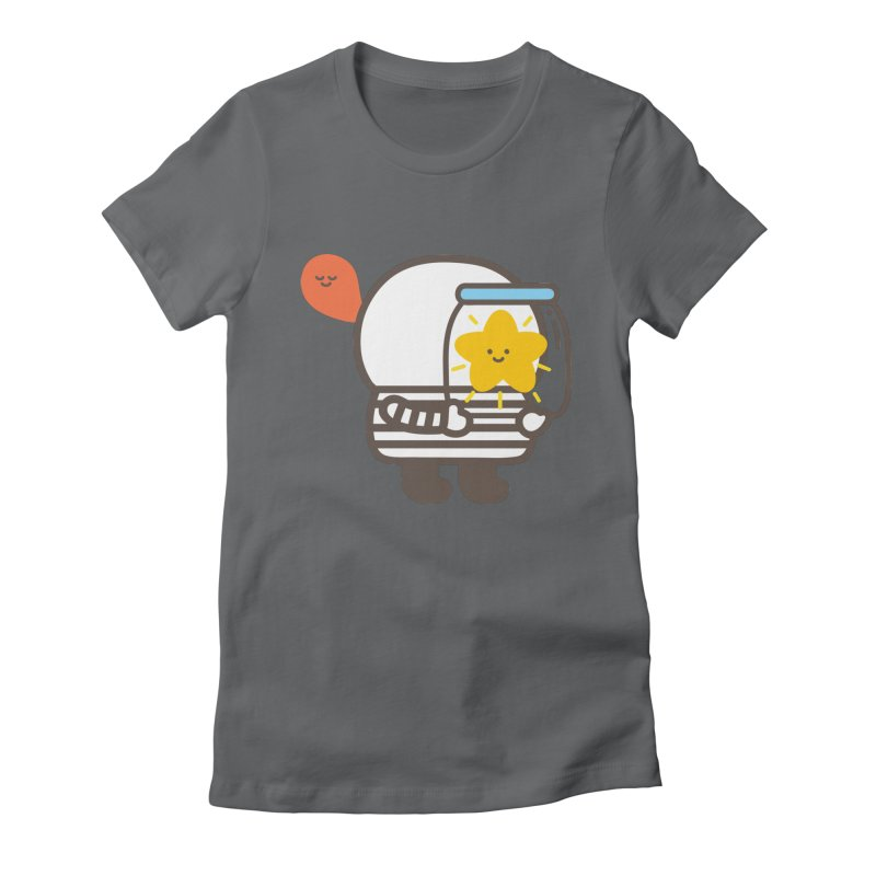 Bubi Au Yeung in aid of Make A Wish Women's Fitted T-Shirt by COUP tees's Artist Shop