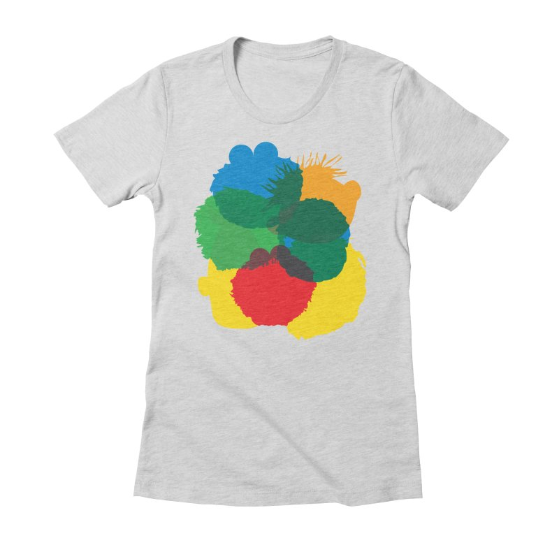Yoni Alter in aid of Great Ormand Street Children's Hospital Women's Fitted T-Shirt by COUP tees's Artist Shop