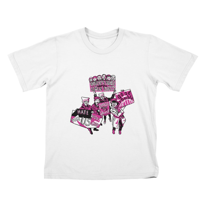 Team Kakow in aid of Womankind Kids T-Shirt by COUP tees's Artist Shop