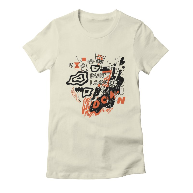 Andy J Pizza in aid of ACLU Women's Fitted T-Shirt by COUP tees's Artist Shop