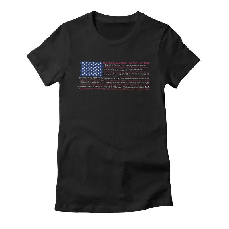 Keith Kelly in aid of ACLU Women's T-Shirt by COUP tees's Artist Shop