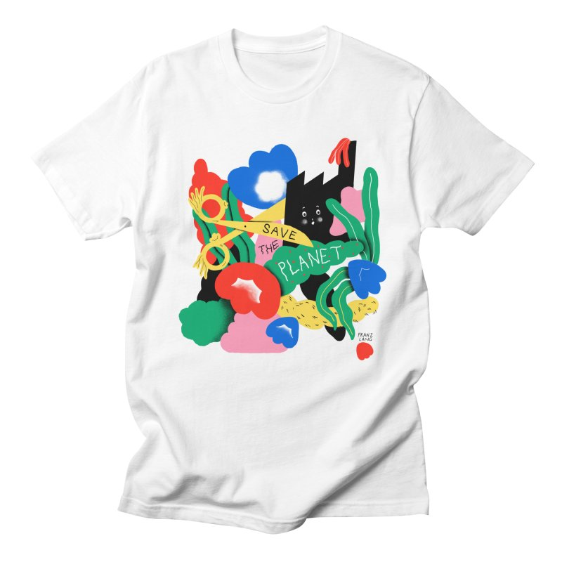 Franz Lang in aid of Trees For Cities Men's T-Shirt by COUP tees's Artist Shop