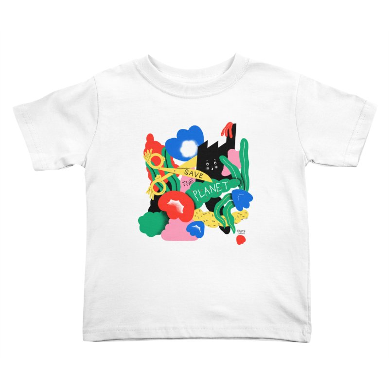Franz Lang in aid of Trees For Cities Kids Toddler T-Shirt by COUP tees's Artist Shop