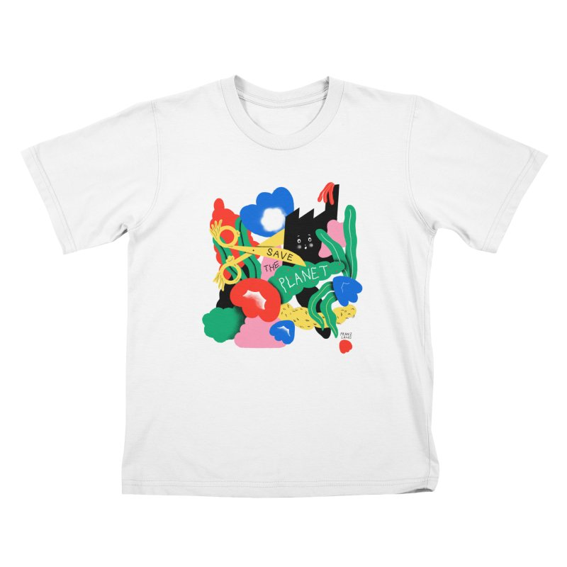 Franz Lang in aid of Trees For Cities Kids T-Shirt by COUP tees's Artist Shop