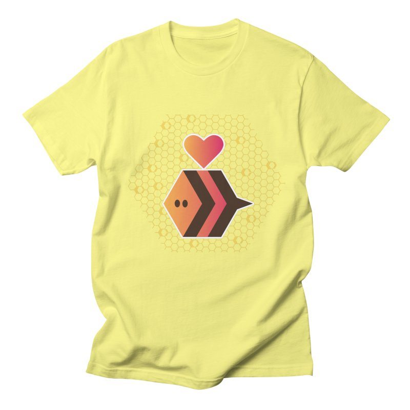 ochre7 in aid of The Bee Cause Men's T-Shirt by COUP tees's Artist Shop