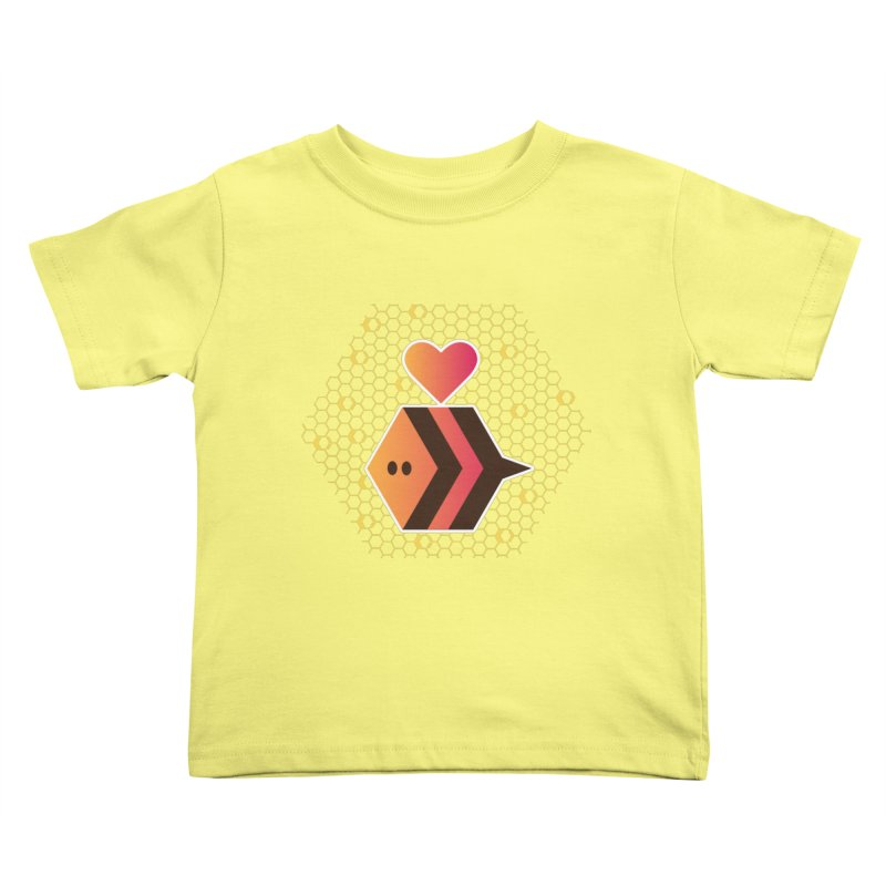 ochre7 in aid of The Bee Cause Kids Toddler T-Shirt by COUP tees's Artist Shop