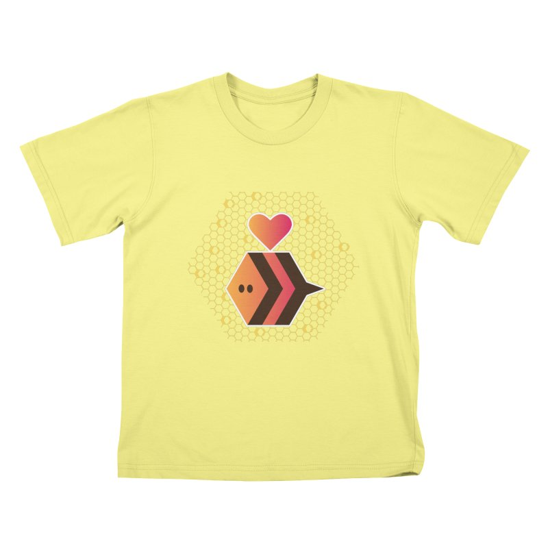ochre7 in aid of The Bee Cause Kids T-shirt by COUP tees's Artist Shop