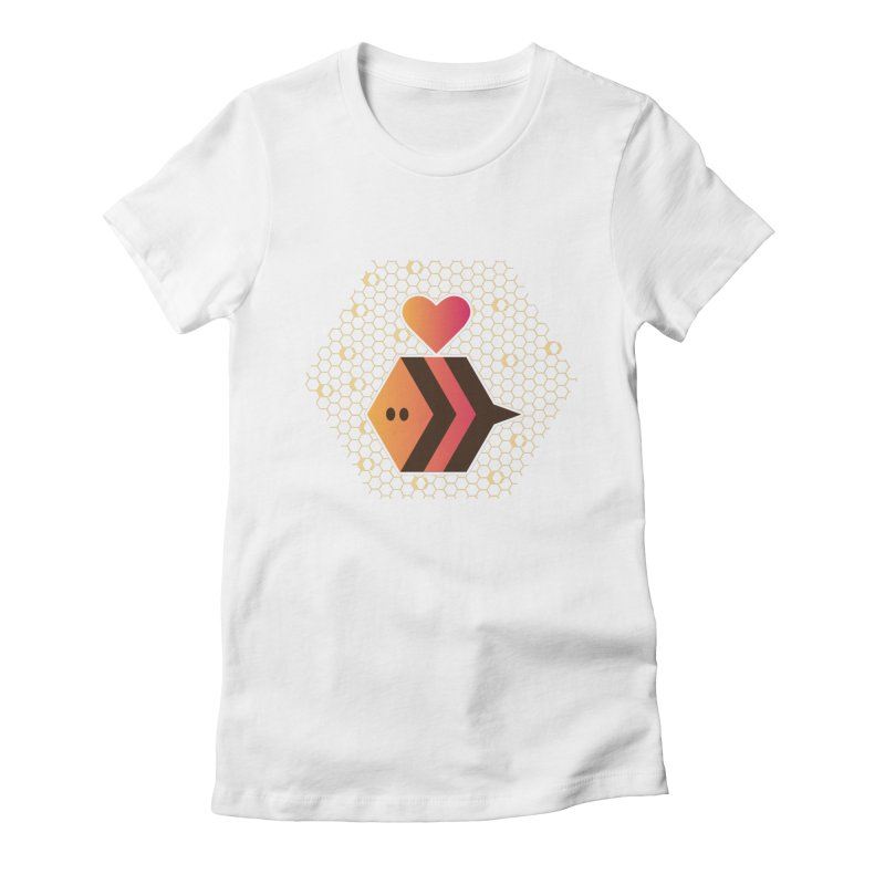ochre7 in aid of The Bee Cause Women's T-Shirt by COUP tees's Artist Shop
