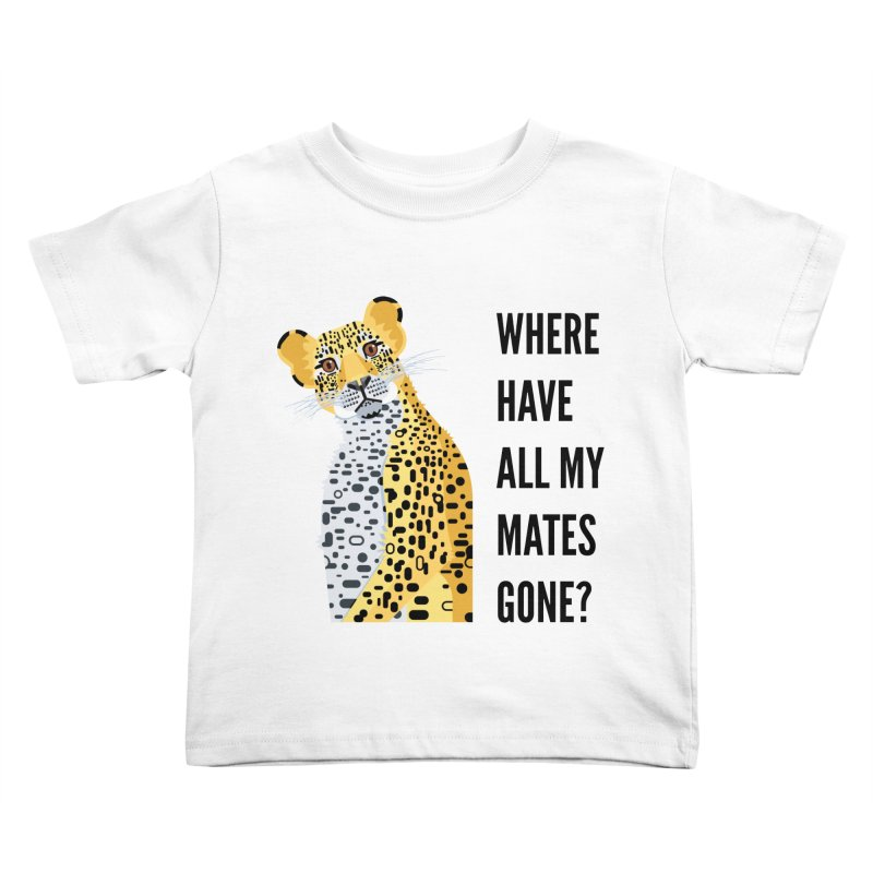 James Boast in aid of Cape Leopard Kids Toddler T-Shirt by COUP tees's Artist Shop