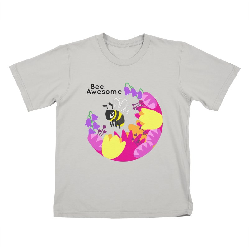 Tiger Tea in aid of The Bumblebee Conservation Trust Kids T-Shirt by COUP tees's Artist Shop