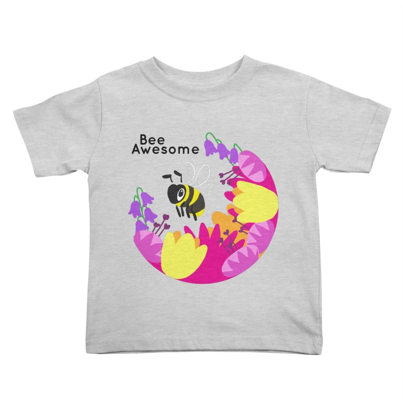 Tiger Tea in aid of The Bumblebee Conservation Trust Kids Toddler T-Shirt by COUP tees's Artist Shop