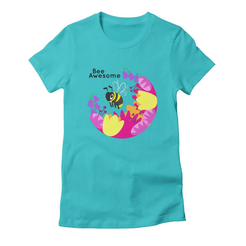 Tiger Tea in aid of The Bumblebee Conservation Trust Women's T-Shirt by COUP tees's Artist Shop