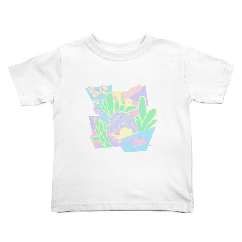 Claudine O'Sullivan in aid of Galapagos Conservation Kids Toddler T-Shirt by COUP tees's Artist Shop