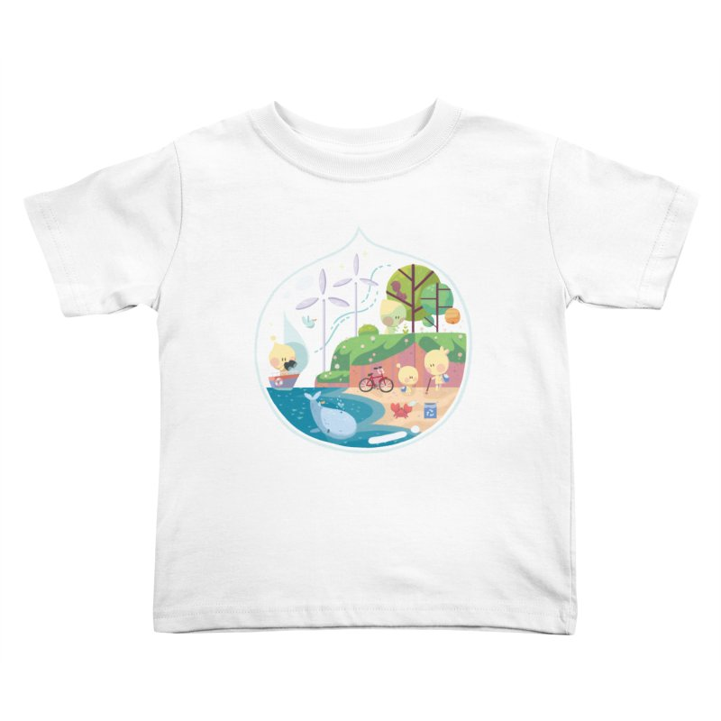 Tara Johnson in aid of The Environmental Defense Fund Kids Toddler T-Shirt by COUP tees's Artist Shop