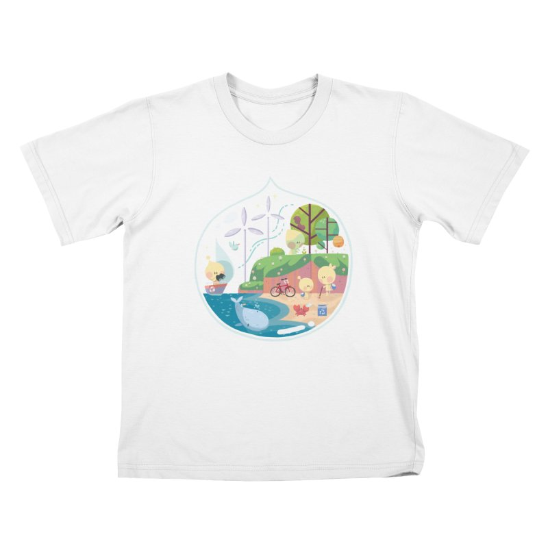 Tara Johnson in aid of The Environmental Defense Fund Kids T-Shirt by COUP tees's Artist Shop