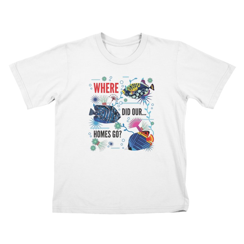 James Boast in aid of Reef Relief Kids T-Shirt by COUP tees's Artist Shop