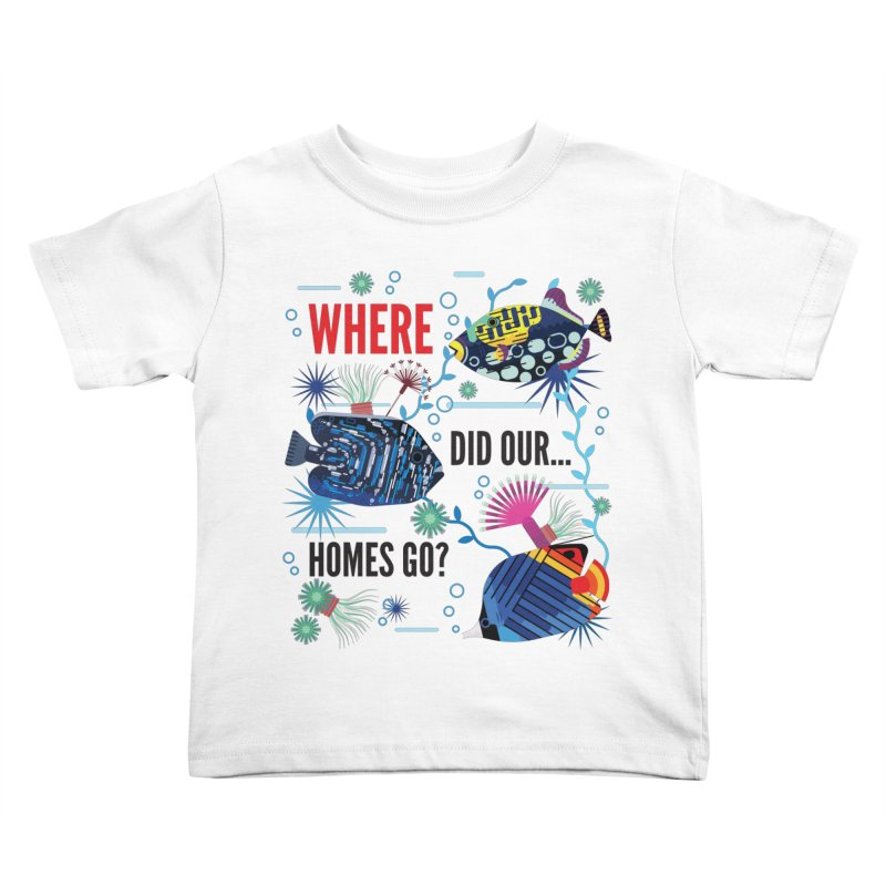 James Boast in aid of Reef Relief Kids Toddler T-Shirt by COUP tees's Artist Shop