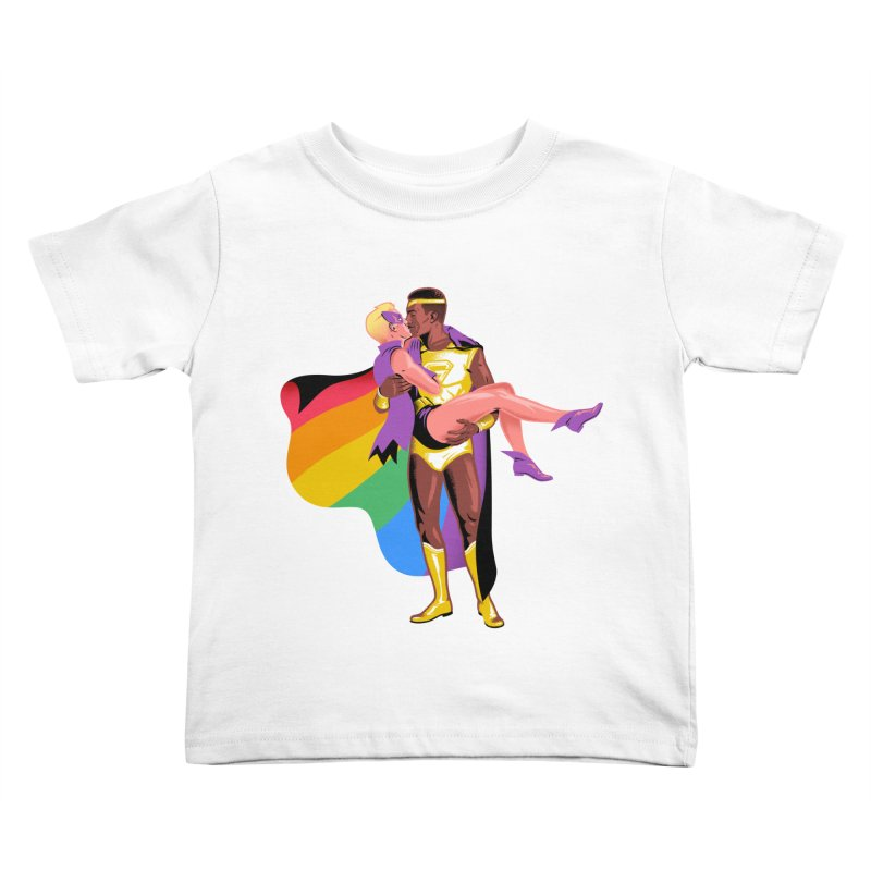 Ben Mounsey in aid of Stonewall Kids Toddler T-Shirt by COUP tees's Artist Shop