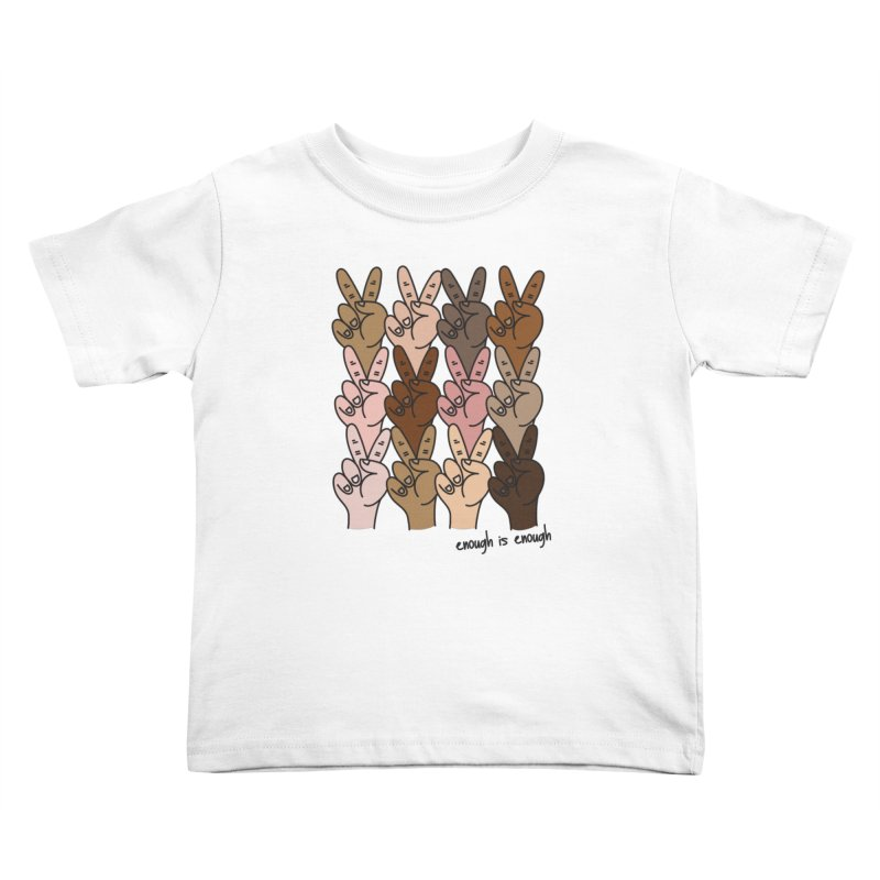 Matthew Miles in aid of Stand For Peace Kids Toddler T-Shirt by COUP tees's Artist Shop