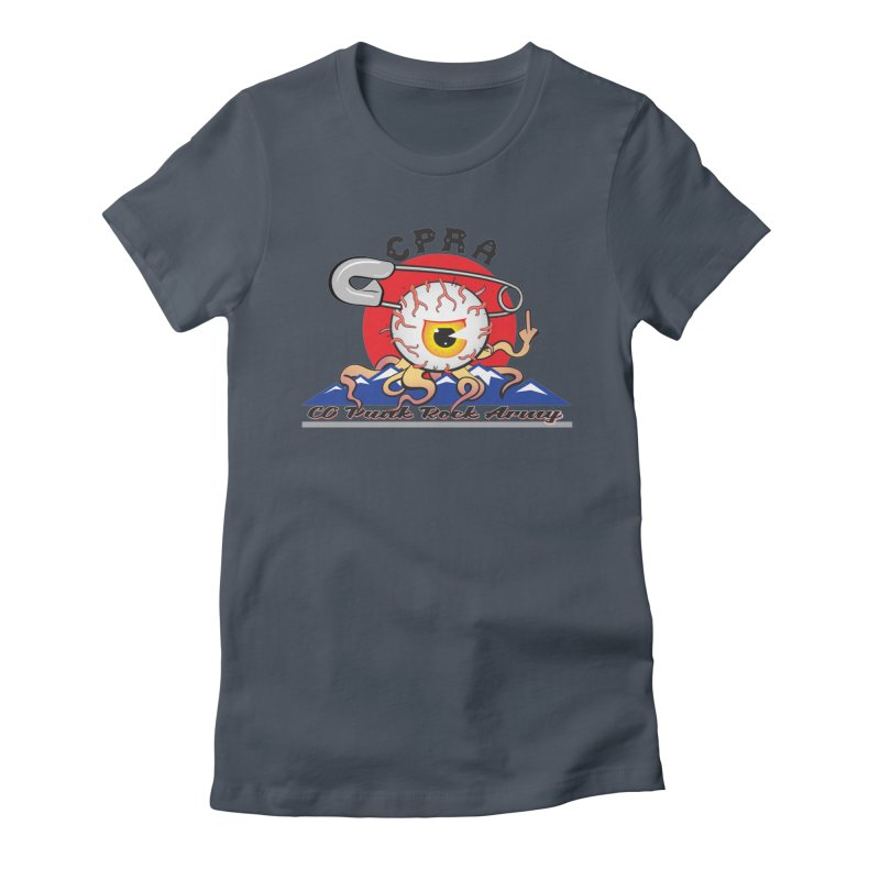 The Eye Is In The Skater Women's T-Shirt by CPRA Merch Shop