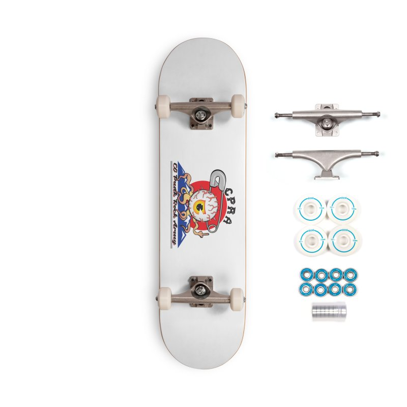 The Eye Is In The Skater Accessories Skateboard by CPRA Merch Shop