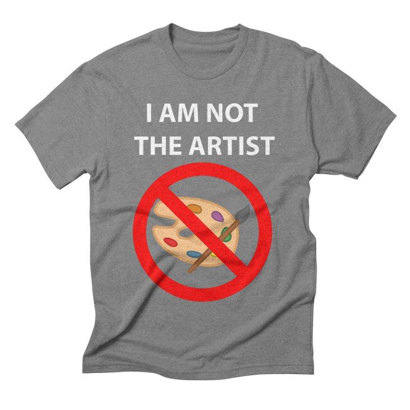 Gallery Sitter Shirt Men's Triblend T-shirt by Congratulations Pine Tees