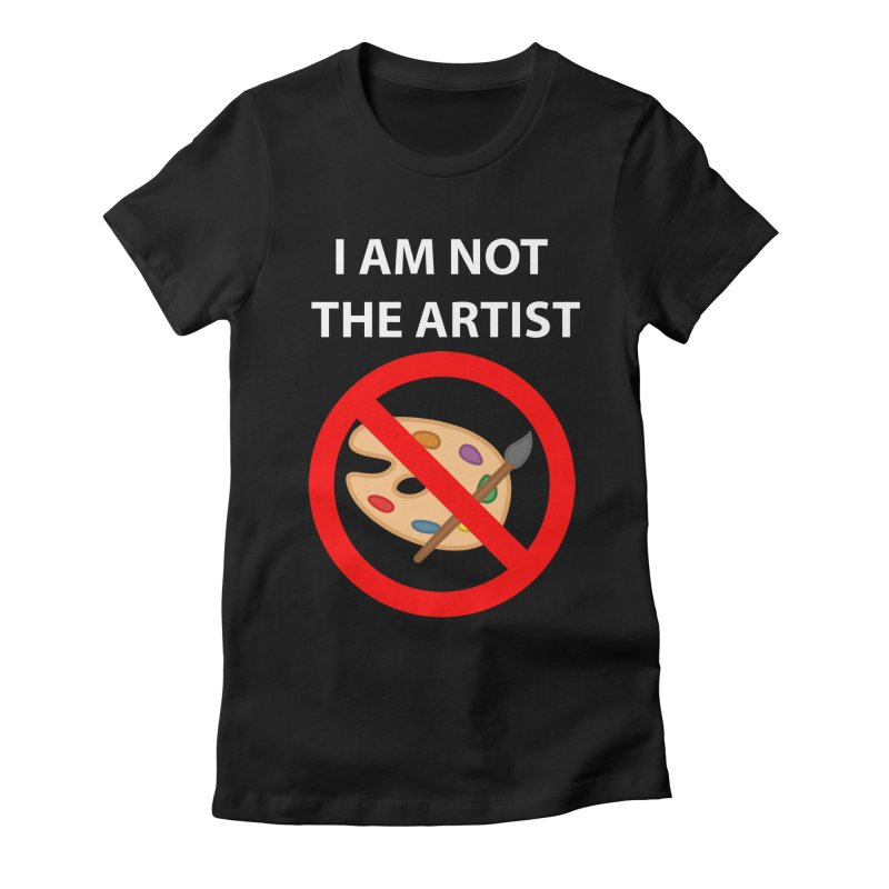 Gallery Sitter Shirt Women's Fitted T-Shirt by Congratulations Pine Tees
