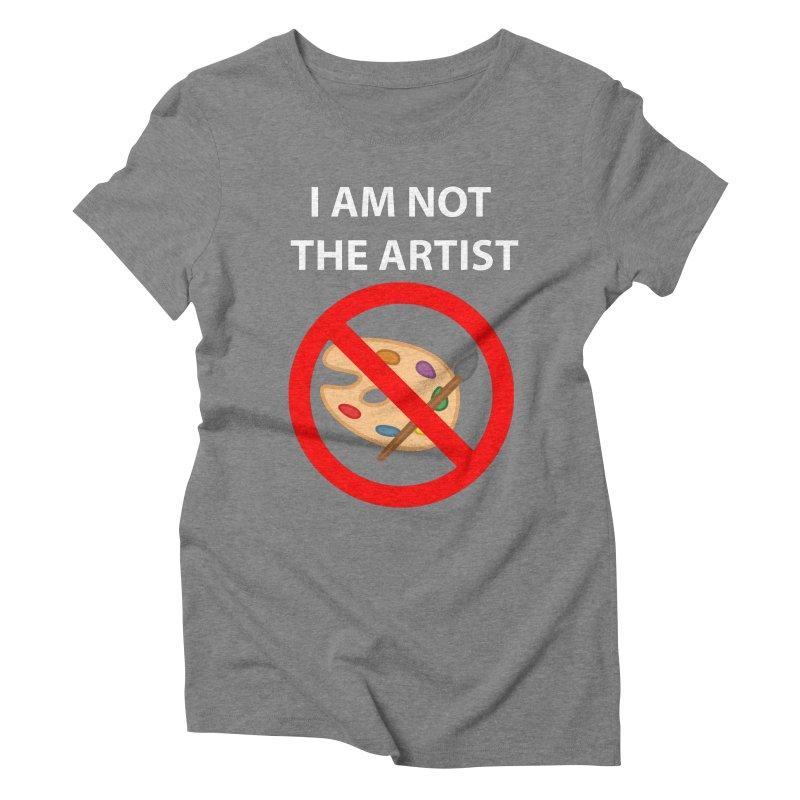 Gallery Sitter Shirt Women's Triblend T-shirt by Congratulations Pine Tees