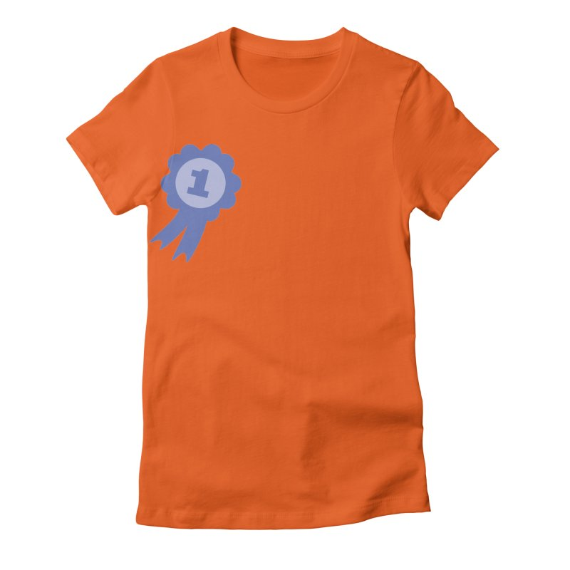 Number One! Women's Fitted T-Shirt by Congratulations Pine Tees