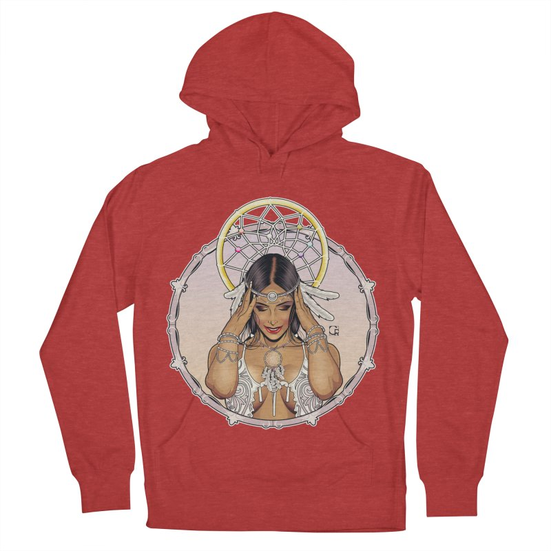 Dreamcatcher Women's French Terry Pullover Hoody by CRcarlosrodriguez's Artist Shop