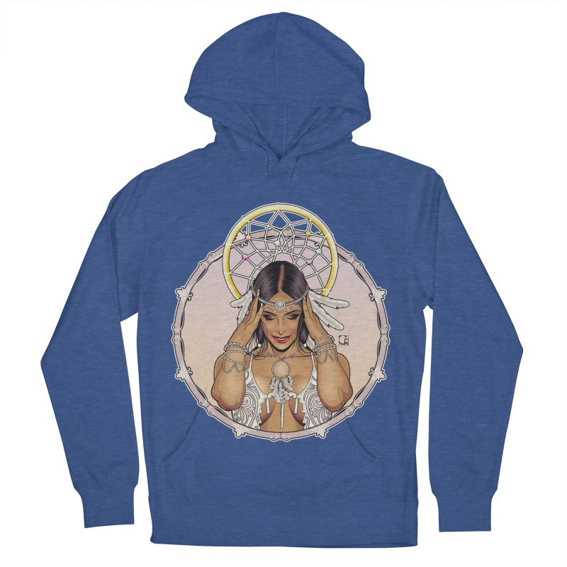Dreamcatcher Men's French Terry Pullover Hoody by CRcarlosrodriguez's Artist Shop