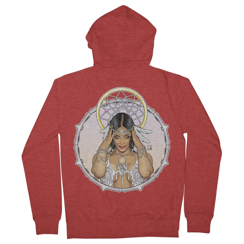 Dreamcatcher Men's French Terry Zip-Up Hoody by CRcarlosrodriguez's Artist Shop