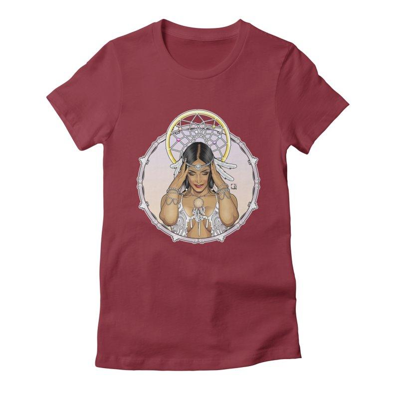 Dreamcatcher Women's Fitted T-Shirt by CRcarlosrodriguez's Artist Shop