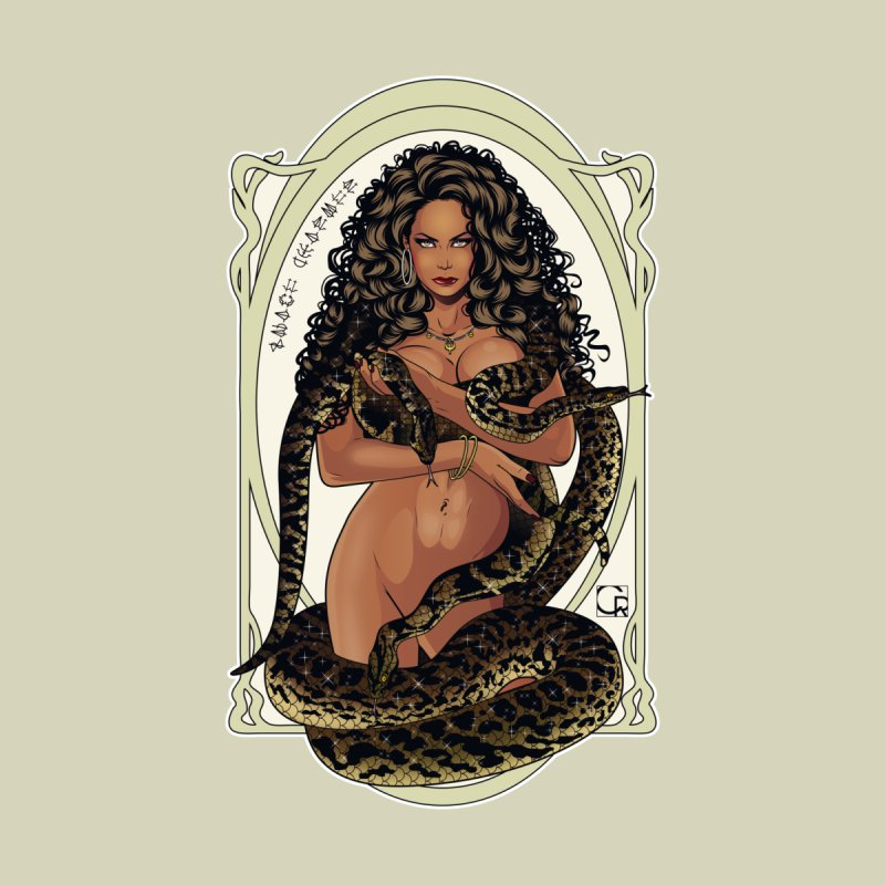 Snake Charmer by CRcarlosrodriguez's Artist Shop