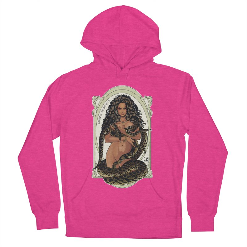 Snake Charmer Men's French Terry Pullover Hoody by CRcarlosrodriguez's Artist Shop
