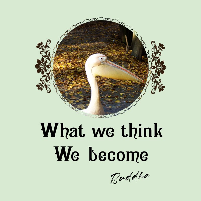 What We Think We Become - Impactful Positive Motivational Home Rug by CWartDesign's Artist Shop