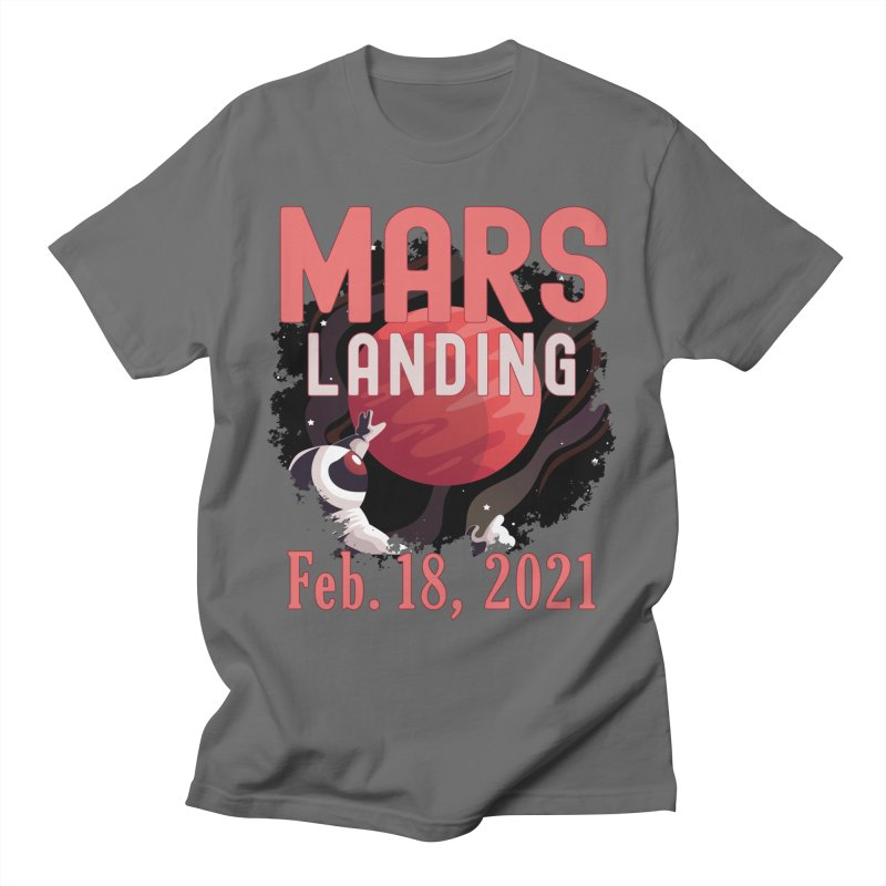 Mars Landing Day Space Exploration Mission Perseverance Men's T-Shirt by Boutiquette
