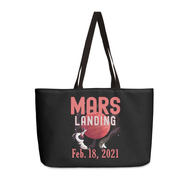 Mars Landing Day Space Exploration Mission Perseverance Accessories Bag by CWartDesign's Artist Shop