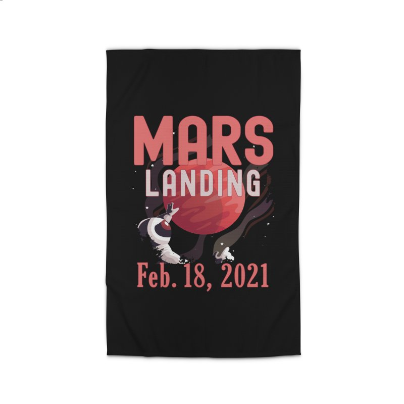 Mars Landing Day Space Exploration Mission Perseverance Home Rug by CWartDesign's Artist Shop